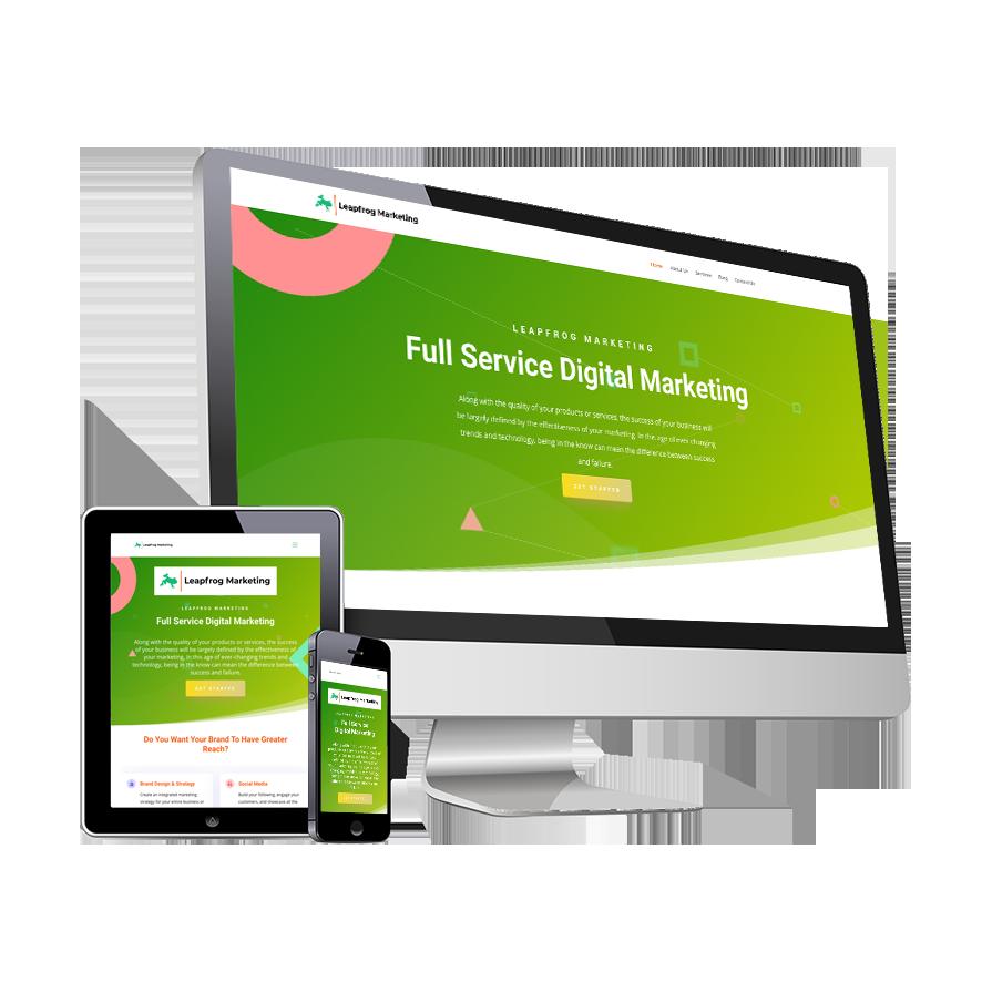 SnapSite - Leapfrog Marketing Sample Website